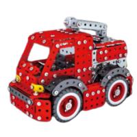Металлический конструктор - Пожарная машина, 592 детали