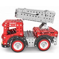 Металлический конструктор - Пожарная машина, 612 деталей