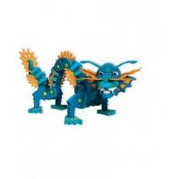 Мягкий конструктор - Синий дракоша