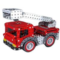 Металлический конструктор - Пожарная машина, 580 деталей