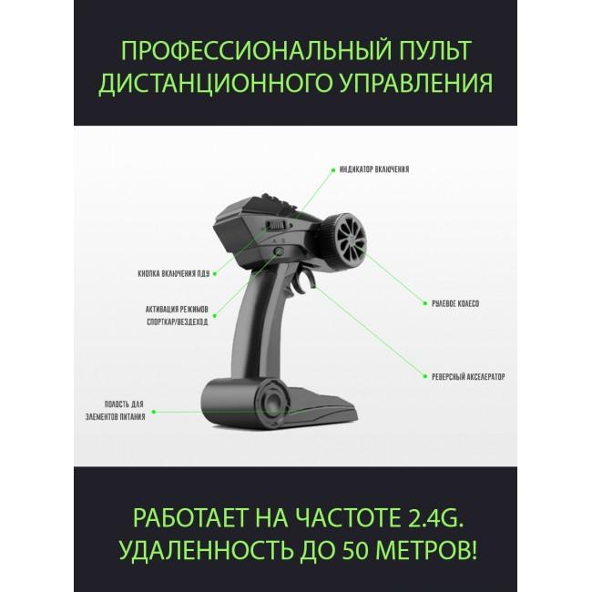 Машинка на радиоуправлении купить недорого в COSMIC.MARKET - 8840-GR