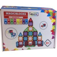 """Магнитный конструктор """"MAGICBLOCKS"""" серии """"BUILDING SET"""", 45 шт."""