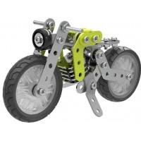Металлический конструктор - Мотоцикл, 120 деталей(тип 1)
