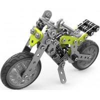 Металлический конструктор - Мотоцикл, 188 деталей