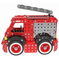 Металлический конструктор - Пожарная машина