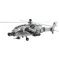 Металлический конструктор - Вертолет, 567 деталей