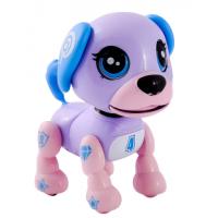 Интерактивный щенок фиолетовый