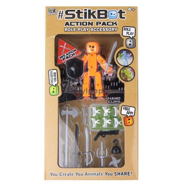 Купить Stikbot TST620 Стикбот Фигурки с оружием недорого в COSMIC.MARKET