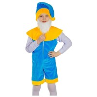 """Детский карнавальный костюм """"Гномик с бородой"""", серии """"Сказочный маскарад""""."""
