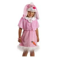 """Детский карнавальный костюм """"Розовый зайка"""", серии """"Плюшки-игрушки""""."""