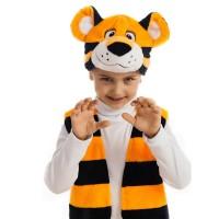 """Детский карнавальный костюм """"Тигренок"""", серии """"Плюшки-игрушки""""."""