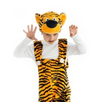 """Детский карнавальный комбенизон """"Тигр"""",серии """"Плюшки-игрушки""""."""