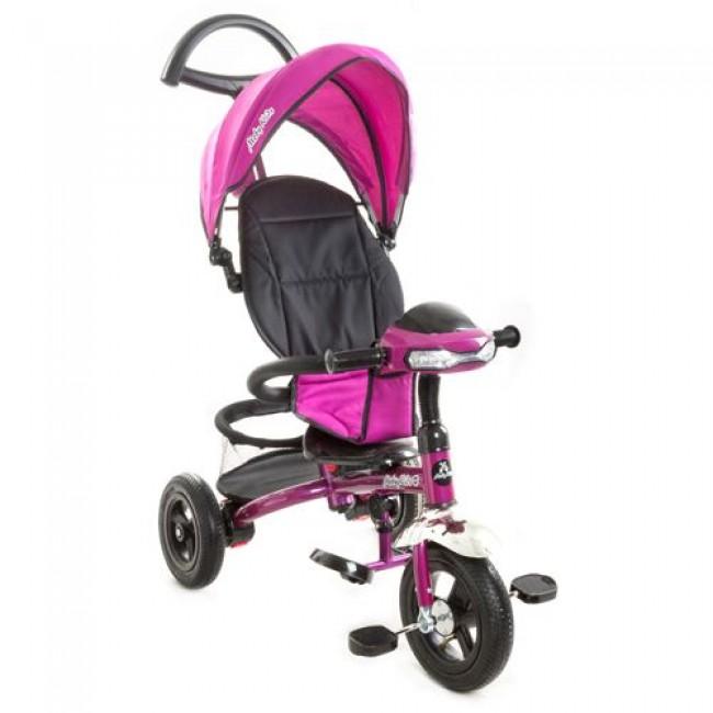 """Велосипед 3кол.MOBY KIDS  """"Style-2"""",светомуз.панель,  надувные колёса"""