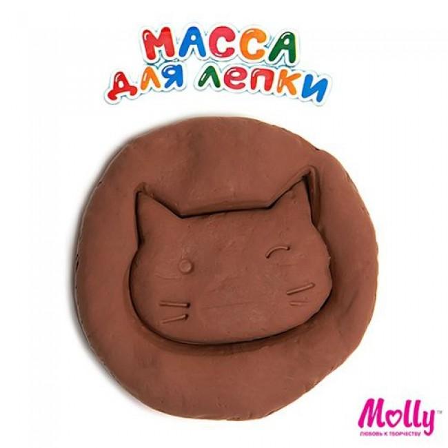 """Набор для детского творчества """"Масса для лепки"""", цвет коричневый, 15 грамм, MOLLY"""