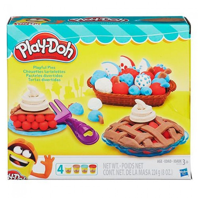 "Пластилин ""Набор Ягодные тарталетки Play-Doh"", HASBRO"