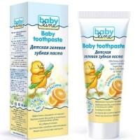 Зубная паста BABYLINE Апельсин, гелевая, с 2 лет, 75 мл