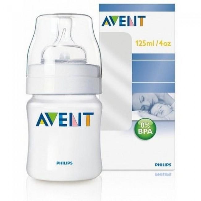 Бутылочка для кормления AVENT PP, 125 мл
