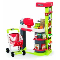 Игровой набор SMOBY 350211 Супермаркет City Shop красный