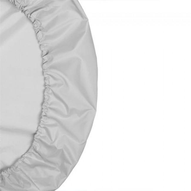 Клеенка-наматрасник дышащий КАРАПУЗ, овальный, 125x75