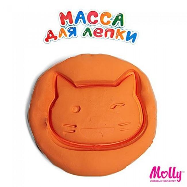 """Набор для детского творчества """"Масса для лепки"""", цвет оранжевый, 15 грамм, MOLLY"""
