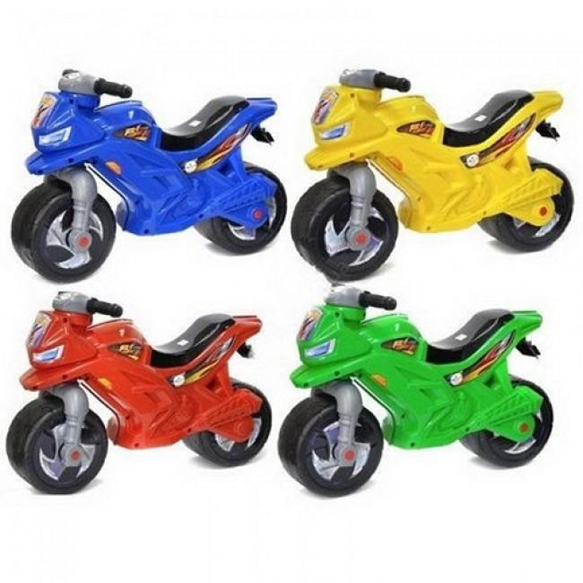 Мотоцикл-каталка 2-х колесный цвета в ассортименте
