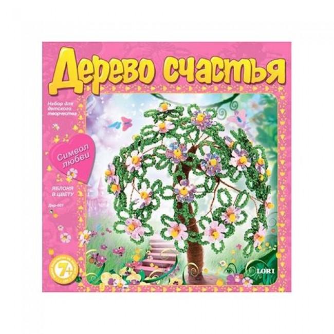 """Набор для детского творчества """"Дерево счастья """"Яблоня в цвету"""", LORI"""