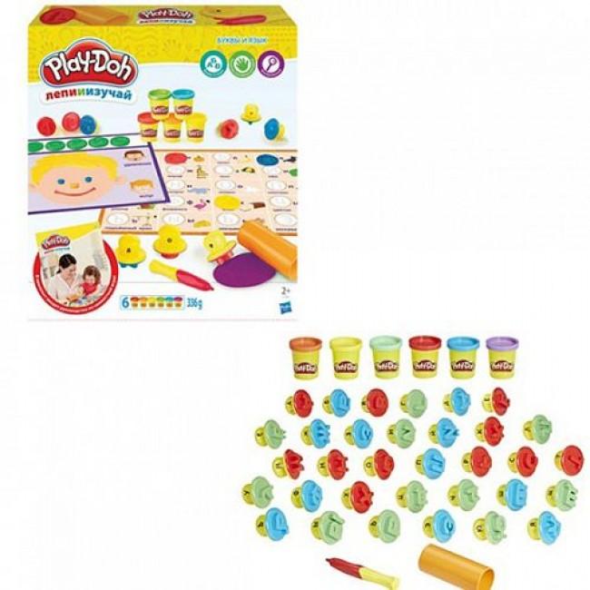 """Набор для детского творчества """"Игровой набор Play-Doh Буквы и языки"""", HASBRO"""