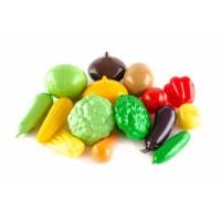 Игровой набор ПЛАСТМАСТЕР 21049 Большой набор овощей