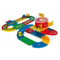 Игровой набор WADER 51792 Kid Cars Вокзал 5м