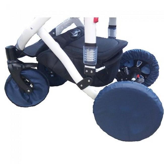 Комплект чехлов КАРАПУЗ, для колясок с поворотными колесами, D25-32