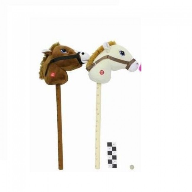 """Игрушка мягкая """"Лошадка-скакалка"""", 75 см, звук, в ассортименте, SHANTOU GEPAI"""