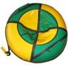 Санки-ватрушки ЕДУ-ЕДУ надувные, 3-х цветные, с камерой НПК+2/1, диаметр 80 см, цвета в ассортименте