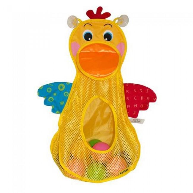 """Игрушка для купания """"Голодный пеликан"""", с мячиками, K'S KIDS"""