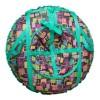 Санки-ватрушки ЕДУ-ЕДУ надувные, Принт,3-х цветные,с кам. НСП+3, диаметр 80 см, цвета в ассортименте