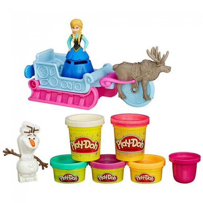 "Набор для детского творчества ""Холодное сердце Play-Doh"", HASBRO"