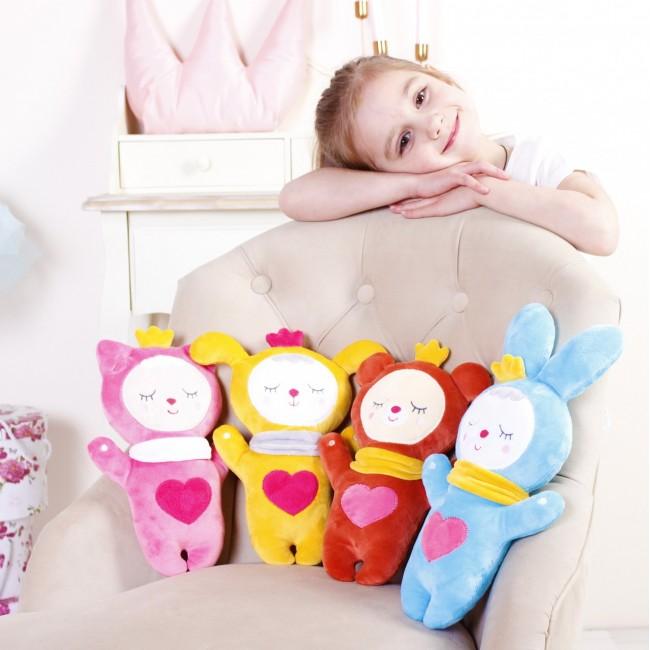 Мягкая игрушка МЯКИШИ 434 Sleepy Toys Котёнок