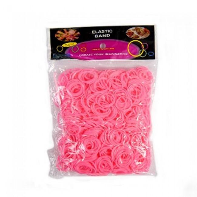 Набор для детского творчества «Набор цветных резинок для плетения», 1000 шт, крючок, в ассортименте