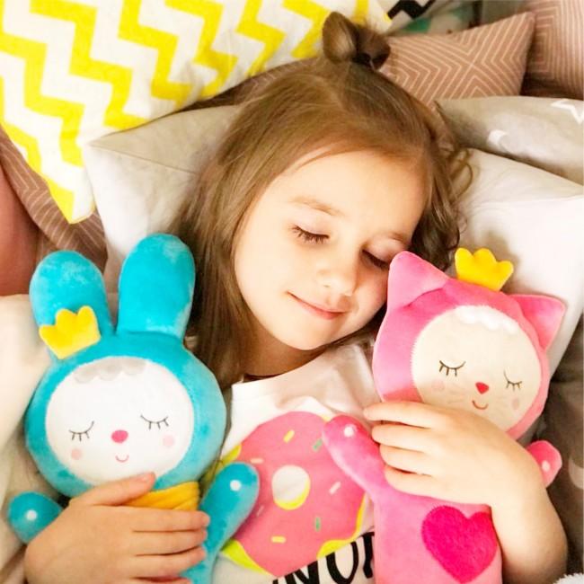 Мягкая игрушка МЯКИШИ 430 Sleepy Toys Зайка
