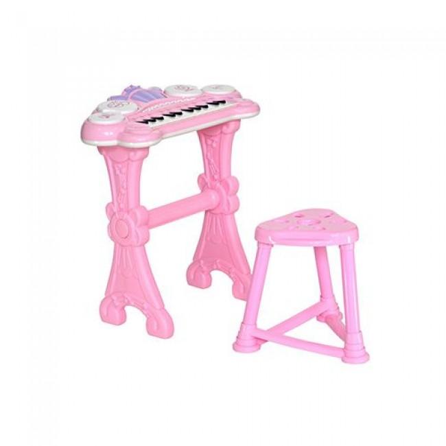 """Игровой центр """"Пианино"""", детский, музыкальный, голубой, EVERFLO"""