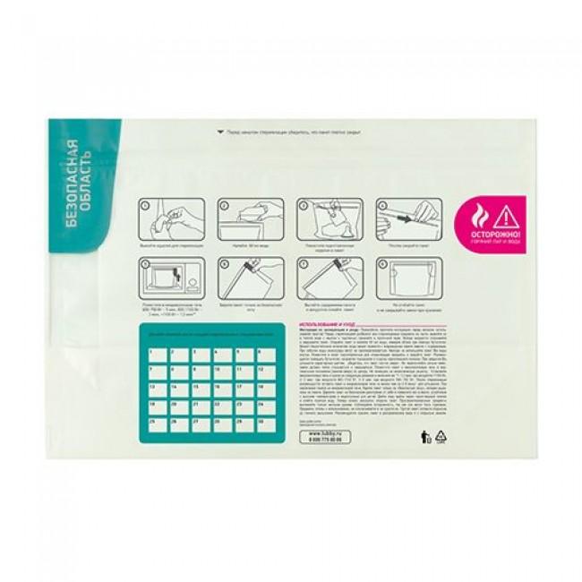 Пакеты для стерилизации в микроволновой печи LUBBY, 3 шт.