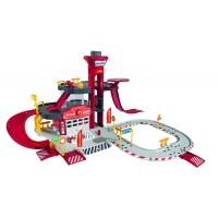 Игровой набор MAJORETTE 2050015 Парковка Пожарная станция Creatix