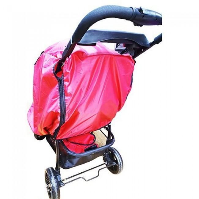 Дождевик для прогулочной коляски КАРАПУЗ цветной