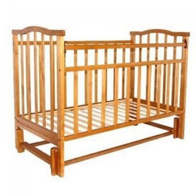 """Кроватка детская ЗОЛУШКА """"Золушка-5"""" 120*60 классическая, маятник продольный"""
