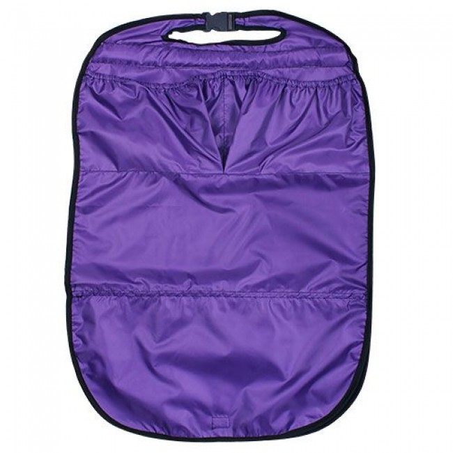 Защита для автомобильного кресла от детских ножек с карманами КАРАПУЗ (цвета в ассортименте)