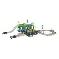Игровой набор MAJORETTE 2050010 Заправочная станция Creatix, 1 машинка