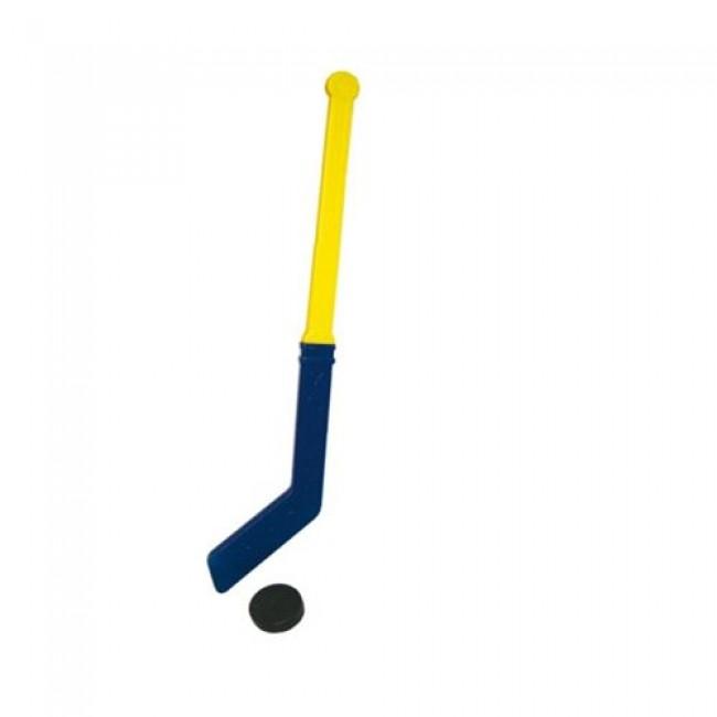 """Игрушка пластмассовая набор """"Хоккей"""", клюшка, шайба, 70 см, СОВТЕХСТРОМ"""