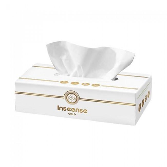 Салфетки бумажные INSEENSE белые, 2 слоя, 150шт