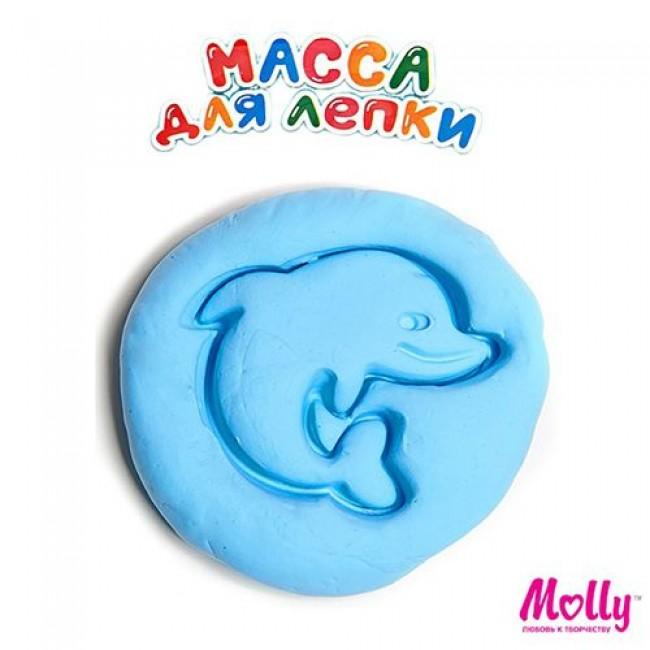 """Набор для детского творчества """"Масса для лепки"""", цвет синий, 15 грамм, MOLLY"""