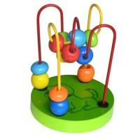 """Игрушка деревянная """"Лабиринт"""", маленький, зеленый, MAPACHA"""