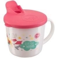 Кружка HAPPY BABY тренировочная с крышкой TRAINING CUP